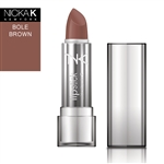 Bole Brown Cream Lipstick by NKNY