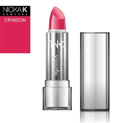 Crimson Red Cream Lipstick by NKNY