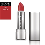 Fire Brick Cream Lipstick by NKNY