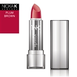 Plum Brown Cream Lipstick by NKNY
