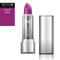 Violet Red Cream Lipstick by NKNY