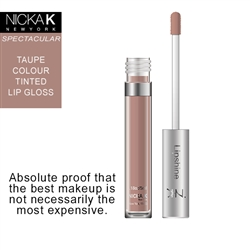 Taupe Colour Lip Shine by Nicka K New York
