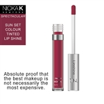 Sunset Colour Lip Shine by Nicka K New York