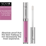 Strawberry Flavour LipShine by Nicka K New York