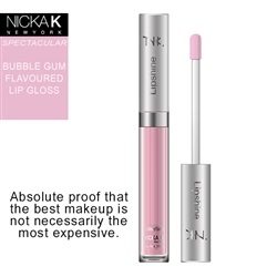 Bubble Gum Flavour LipShine by Nicka K New York
