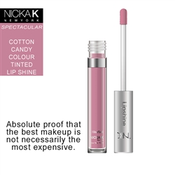 Cotton Candy Flavour LipShine by Nicka K New York