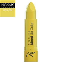 Colour Yellow Mood Lipstick by Nicka K New York