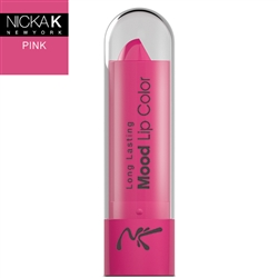 Colour Pink Mood Lipstick by Nicka K New York
