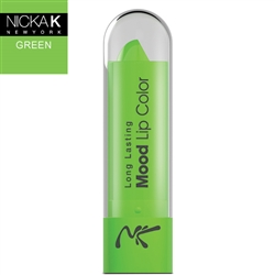 Colour Green Mood Lipstick by Nicka K New York