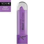 Dark Purple Mood Lipstick by Nicka K New York