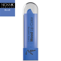Blue Mood Lipstick by Nicka K New York