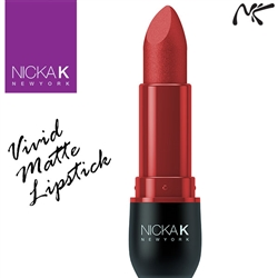 Vivid Matte Lipstick Sangria by Nicka K New York
