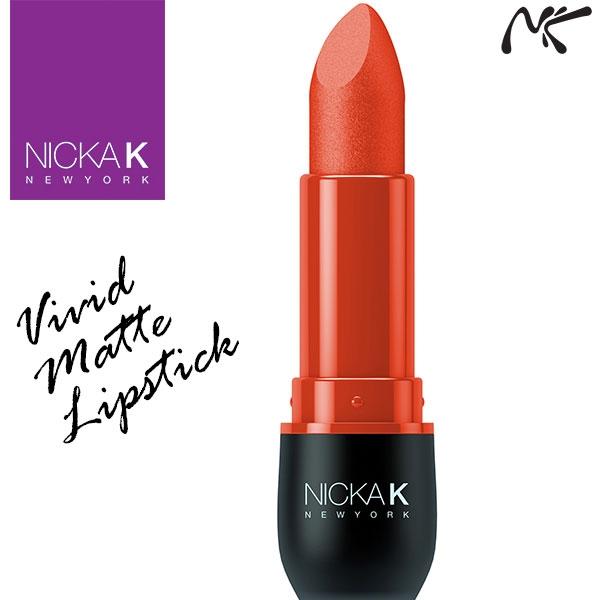 Nicka K New York Vivid Matte Lipstick - Dark Pink Shade
