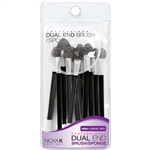 Professional Dual End Eye Shadow Brush and Sponge.