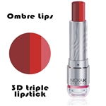 Ombre Lipstick | Sangria Punch | 3D Lipstick by NKNY