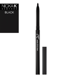 Black Automatic Eyeliner Pencil by Nicka K New York