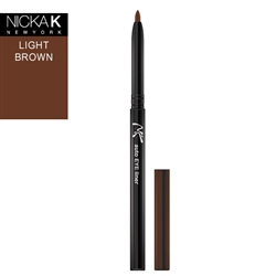 Light Brown Automatic Eyeliner Pencil by Nicka K New York