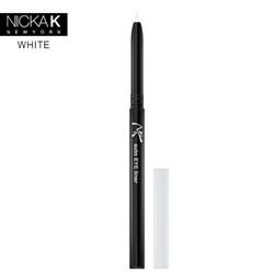 White Automatic Eyeliner Pencil by Nicka K New York