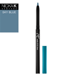 Sky Blue Automatic Eyeliner Pencil by Nicka K New York