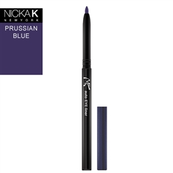 Prussian Blue Automatic Eyeliner Pencil by Nicka K New York