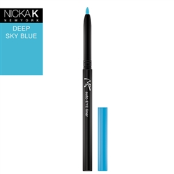 Deep Sky Blue Automatic Eyeliner Pencil by Nicka K New York