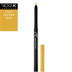Light Golden Rod Automatic Eyeliner Pencil by Nicka K New York