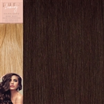 120 Grams Straight Weft Pure Luxury Hair Extensions Colour 99J