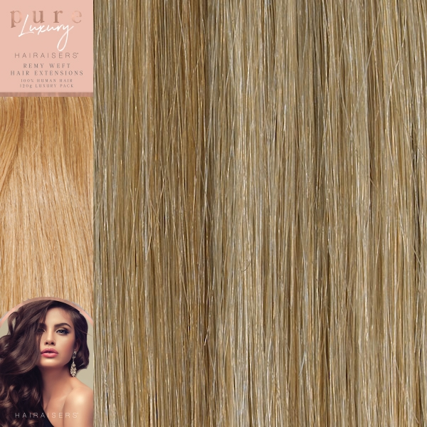 120 Grams Straight Weft Pure Luxury Hair Extensions P27sb