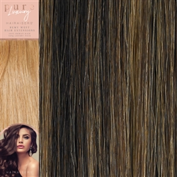 120 Grams Straight Weft Pure Luxury Hair Extensions Colour P4/27