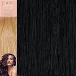 120 Grams Straight Weft Pure Luxury Hair Extensions 18 Inches Colour 1