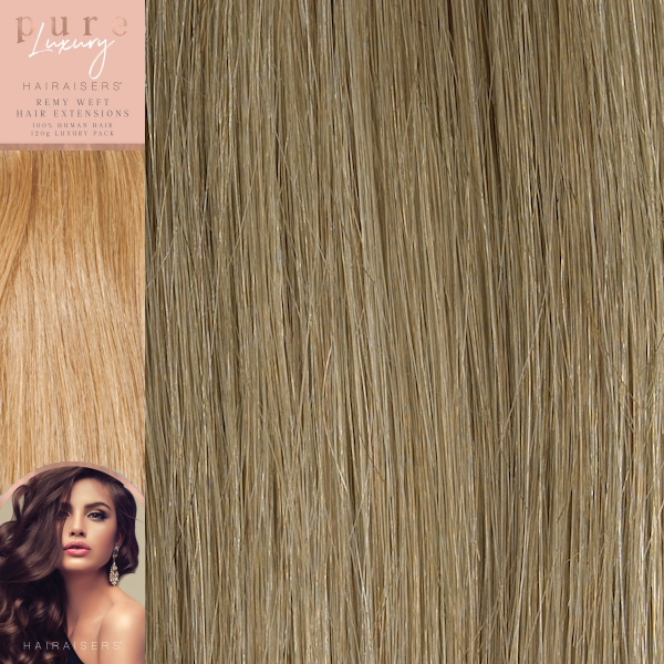 18 Inches 120 Grams Remy Human Hair Extensions Colour P18 22