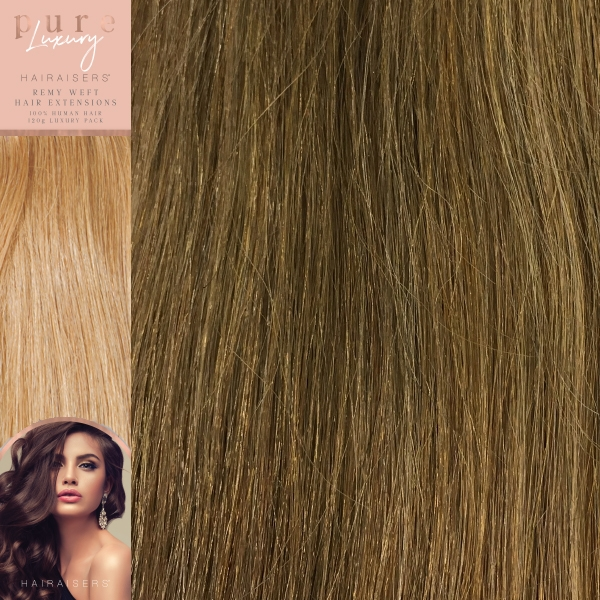 18 Inches 120 Grams Remy Human Hair Extensions Colour P812