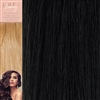 120 Grams 20 Inches Straight Weft Pure Hair Extensions Colour 1B
