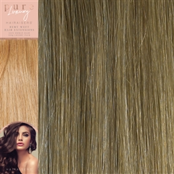 120 Grams 20 Inches Straight Weft Pure Hair Extensions Colour P12/16/SB