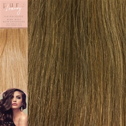 120 Grams 20 Inches Straight Weft Pure Hair Extensions Colour P8/12