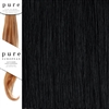 Pure Remy Clip In Hair Extensions 14 Inches Colour 1