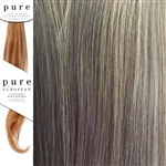 Pure Remy Clip In Hair Extensions 14 Inches Colour 6/27