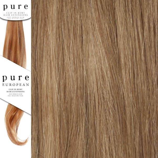 Pure Remy Clip In Hair Extensions 14 Inches Colour P121416