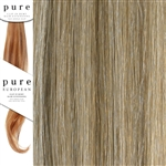 Pure Remy Clip In Hair Extensions 14 Inches Colour P18/SB