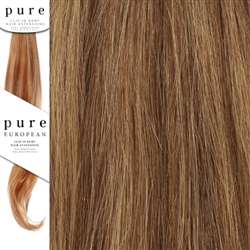 Pure Remy Clip In Hair Extensions 14 Inches Colour P5/27