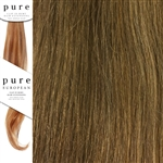 Pure Remy Clip In Hair Extensions 18 Inches Colour 8/12