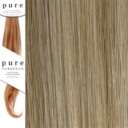 Pure Remy Clip In Hair Extensions 18 Inches Colour P16/SB