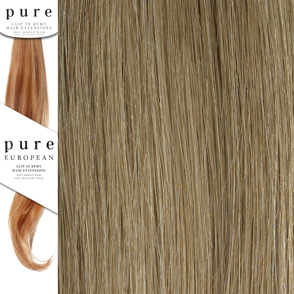 Pure Remy Clip In Hair Extensions 18 Inches Colour P1822