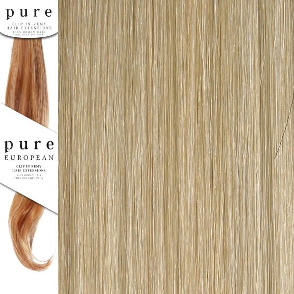 Pure Remy Clip In Hair Extensions 18 Inches Colour P22sb