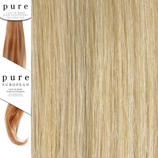 Pure Remy Clip In Hair Extensions 18 Inches Colour P24sb