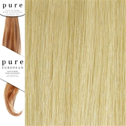 Pure Remy Clip In Hair Extensions 18 Inches Colour SB