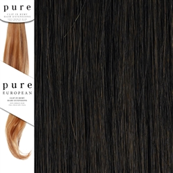 Pure Remy Clip In Hair Extensions 22 Inches Colour 4