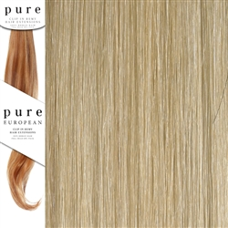 Pure Remy Clip In Hair Extensions 22 Inches Colour P22/SB