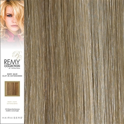 Hairaisers Remy Clip In Human Hair Extensions Colour 12/SB 20 Inches