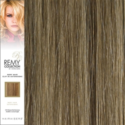 Hairaisers Remy Clip In Human Hair Extensions Colour 14/24 20 Inches